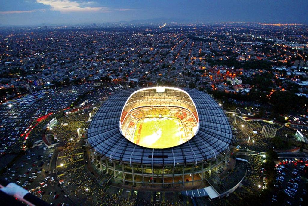 Estadio Azteca in Mexico City, Mexico