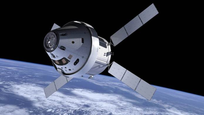 NASA plans to launch the Orion Multi Purpose Crew Vehicle Ascent Abort 2 test flight (AA‑2) from Spaceport Florida Launch Complex 46 in 2018.
